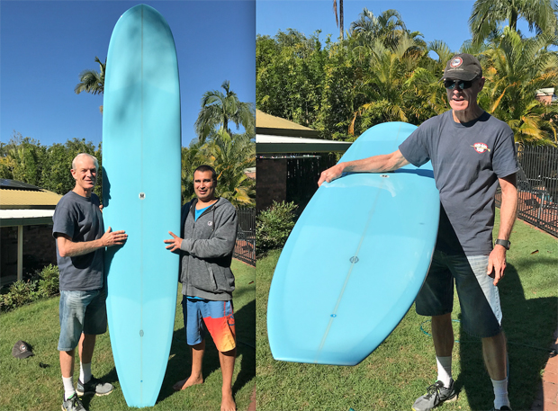 "Image 1 for What a stunner! Our 81st board winner picks up his Wilkerson Surfcraft ""Mojo"""