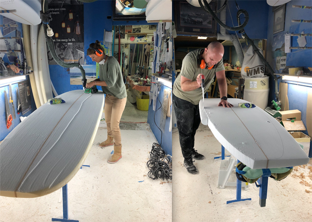 Image 3 for Shape your own board with Dan Bekis at DJB Surfboards