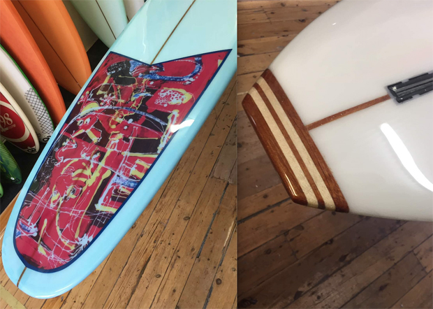 """Image 5 for Our 90th subscriber board winner John Sorby picks up his Carabine 9'8"""" Space Pig"""