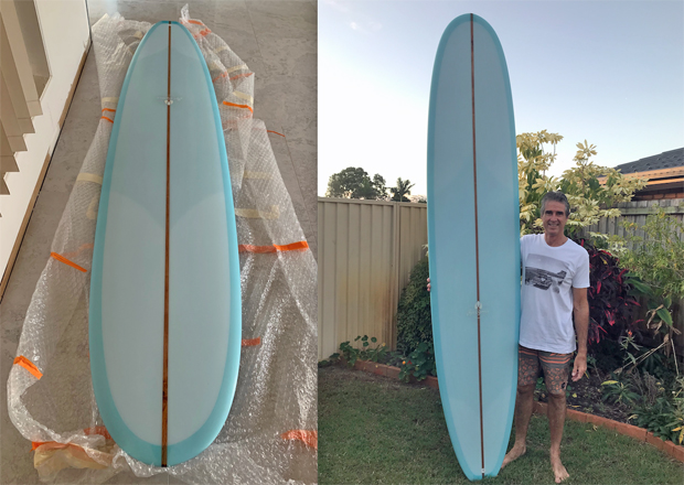 Image 1 for Taking delivery of the Jye Byrnes V-Wizard