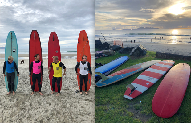 Image 3 for Longboards and Kiwi Lifeguards style up on the solstice - wrap & photos