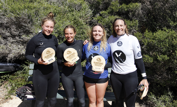 Image 4 for Cracking waves for the Volte Wetsuits WA Longboard Titles – wrap, results & photos