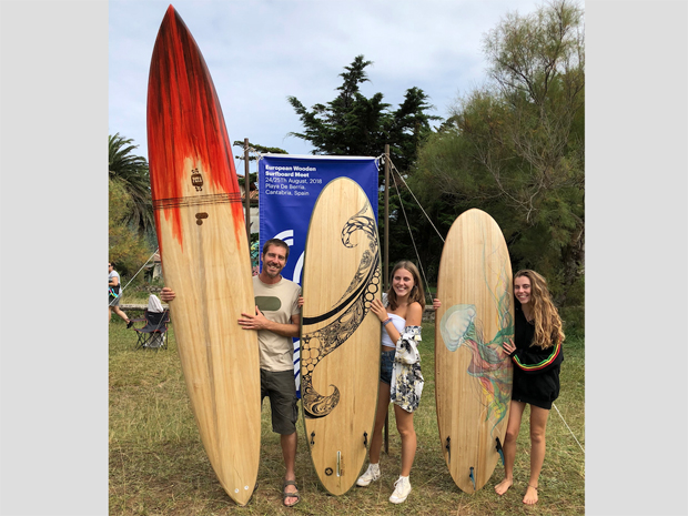 Image 1 for Cantabria anyone? Fine times ahead at the European Wooden Surfboard Day