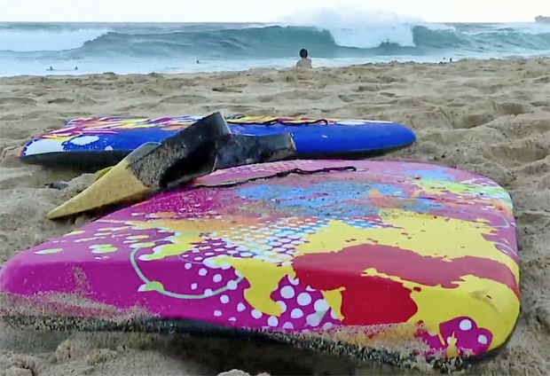 Image 1 for Maui looking at banning el cheapo disposable bodyboards – should it be universal?