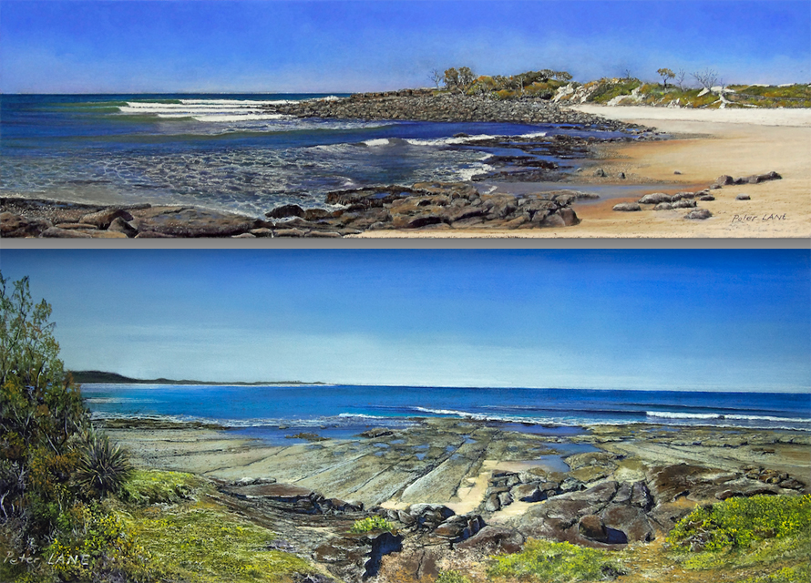 Image 1 for Angourie, Arrawarra, and . . . art for art's sake. Peter Lane's amazing seascapes