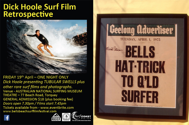 Image 3 for Dick Hoole Retrospective, presented by the Bells Beach Surf Film Festival