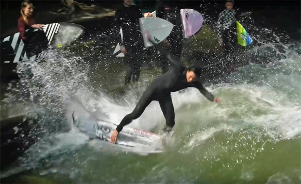 Image 3 for Meet the stoked surf nutters of the world's original stationary wave, the Eisbach