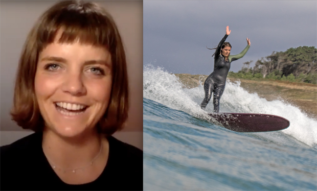 "Image 1 for Lucy Small, ""Salwater Pilgrim"" - Oz Longboarding Podcast Episode 26"