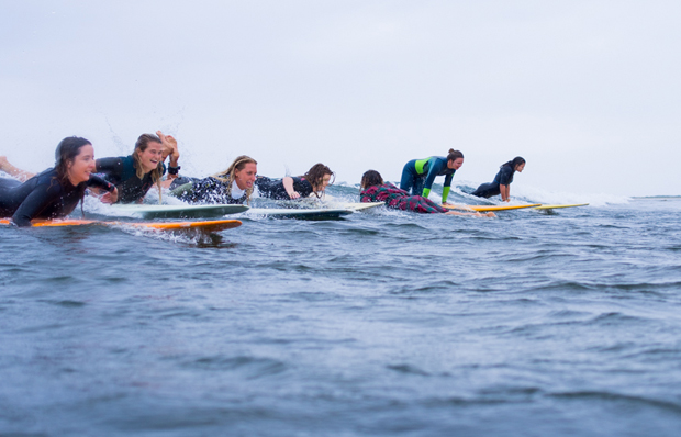 Image 1 for Become a Wild Woman on Water this March! Get the news, check out the vid