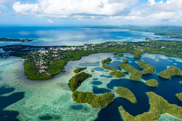 Image 1 for Palau to be the first country to ban sunscreens to protect its vulnerable coral reefs.