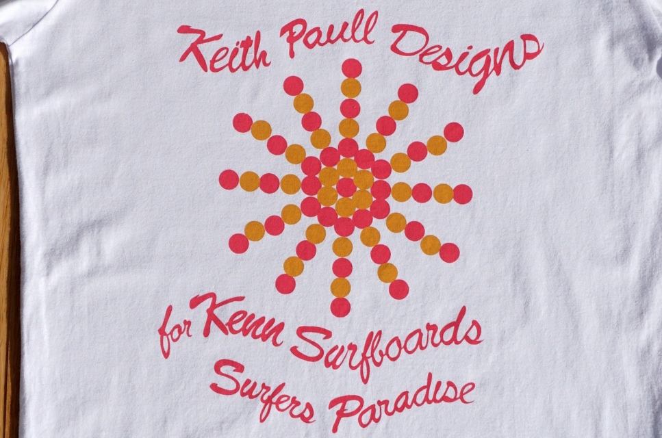 Image 2 for Keith Paull Designs just for starters - the latest in the Rare Surf Tees range