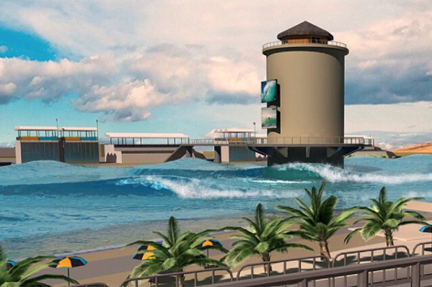 Image 1 for The world's first multi break surf park almost finished – watch the vid on how it works