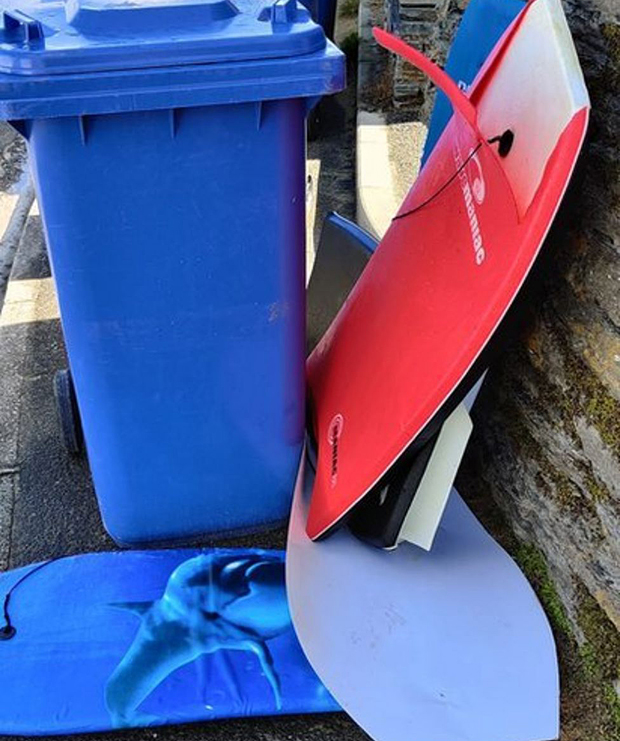 Image 2 for UK: Free wooden bodyboards in effort to stop polystyrene pollution