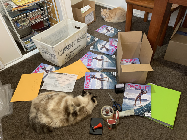 Image 2 for THE NEW ISSUE OF PLB - What's in it? Mick the Mighty Proofreader brings the inside info