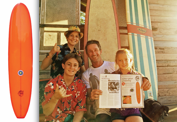 Image 1 for Josh & the Groms Score the Little Cove! Our 78th subscriber board winners!