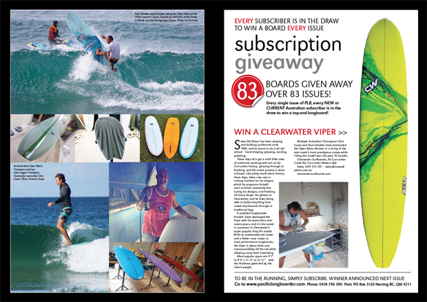 Image 3 for OUR 83rd GIVEAWAY BOARD – A CLEARWATER VIPER