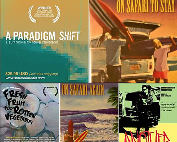 Image 1 for Free surf movies for a month from Steve Cleveland