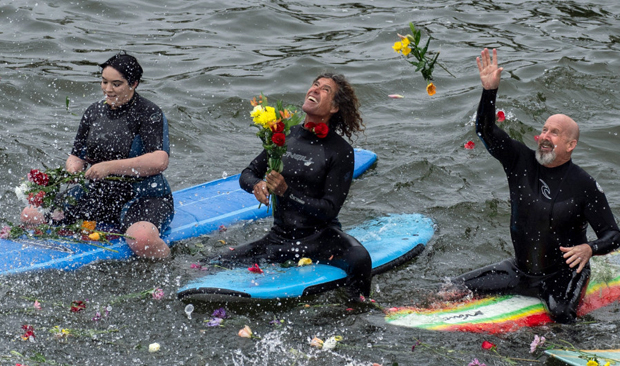Image 2 for Concert and paddle-out for Dick Dale – surf rocker remembered at Orange County