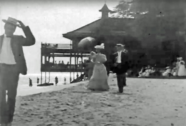 """Image 4 for The oldest footage ever shot of surfing - Thomas Edison's """"Surf Scenes"""" – filmed in 1906"""