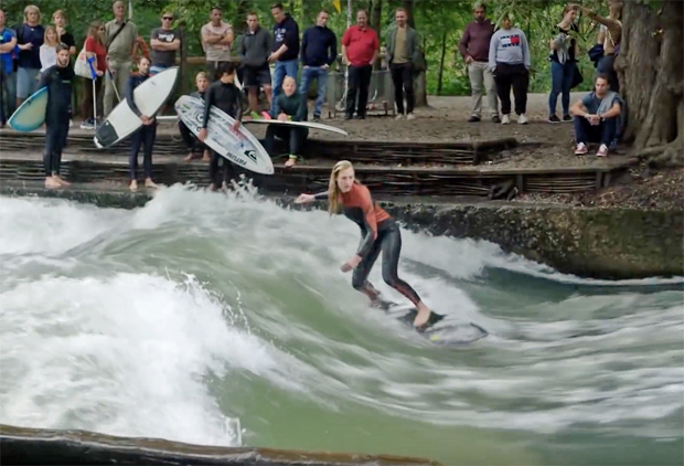 Image 1 for Meet the stoked surf nutters of the world's original stationary wave, the Eisbach