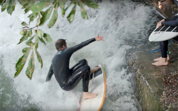 Image 2 for Meet the stoked surf nutters of the world's original stationary wave, the Eisbach