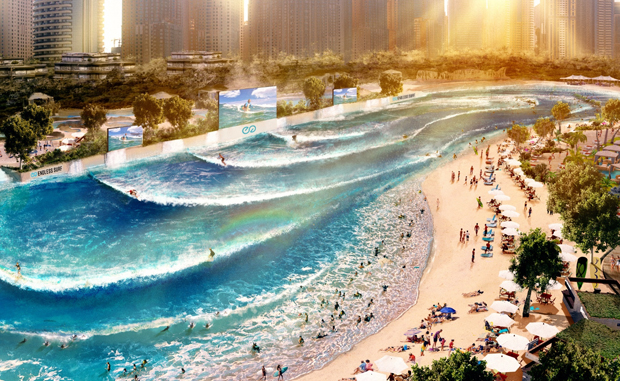 Image 1 for With Paris project industry giant WhiteWater jumps into the surf park market