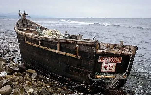"""Image 1 for Macabre """"Ghost Boats"""", and the world's largest illegal fleet"""