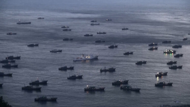 """Image 3 for Macabre """"Ghost Boats"""", and the world's largest illegal fleet"""