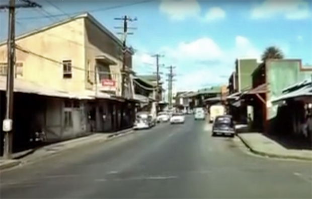 Image 1 for Rare footage of Honolulu back in 1954 – oh to have a time machine