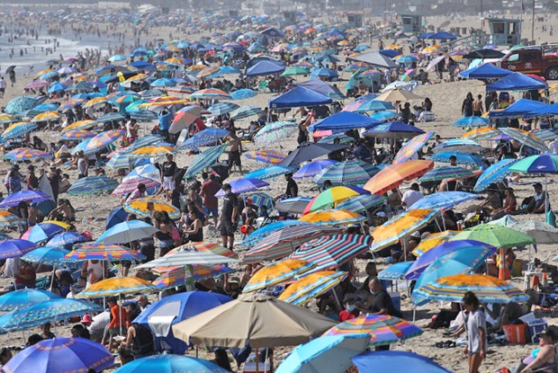 Image 1 for L.A. hits 121 degrees Fahrenheit, the County's hottest day ever