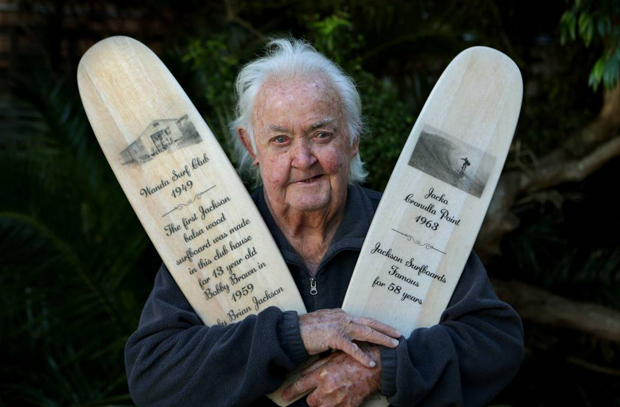 """Image 2 for The great Brian """"Jacko"""" Jackson gone at 85 - Cronulla and Australian surfer, shaper, boardbuilding pioneer and legend"""