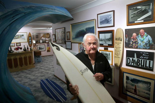 """Image 4 for The great Brian """"Jacko"""" Jackson gone at 85 - Cronulla and Australian surfer, shaper, boardbuilding pioneer and legend"""