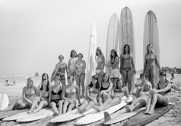 Image 1 for Waves of change put women in the Cronulla surf picture