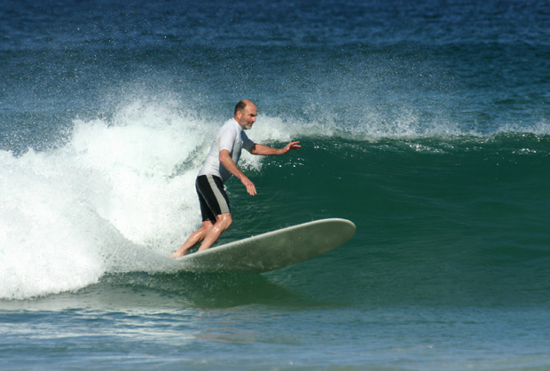 "Image 2 for Much admired South Coast longboarder Laurie Andrew dies during the Australian bushfires – ""a stylish surfer, a great bloke"""