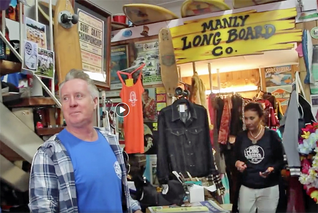 Image 1 for The amazing down-home world famous Manly Longboard Co