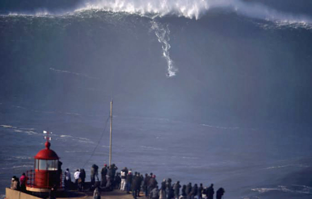 Image 1 for Town once feared 10-storey waves - but then surfers showed up