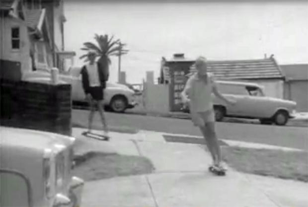 "Image 4 for ""Gremlins and Sandies in New Craze - Roller Boarding"" - 1964"