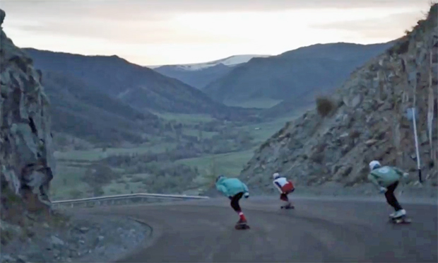 Image 1 for Longboarding on land, through Eastern Russia – a 25-minute movie