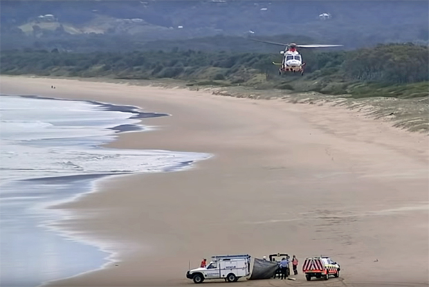 Image 1 for Surfer in his 20s dies after shark attack at Shellys