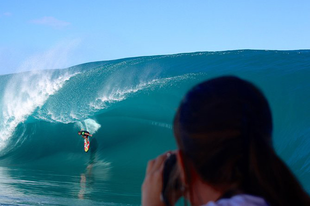 Image 1 for Ummm . . . Teahupo'o confirmed as the surf venue for the Paris 2024 Olympics