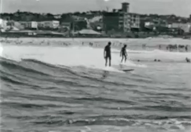 "Image 1 for Rare surf footage from 1925 – ""The Popular Sport of Surfboarding"" – Bondi Beach"