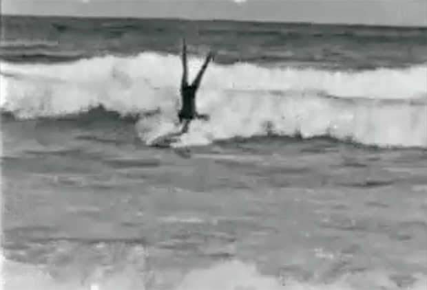 "Image 2 for Rare surf footage from 1925 – ""The Popular Sport of Surfboarding"" – Bondi Beach"