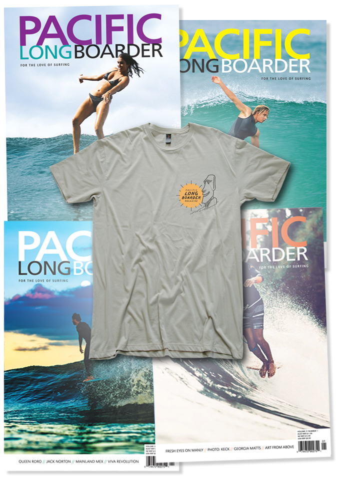 Image 1 for PLB Subscription (4 Issues) + PLB Moai Tee