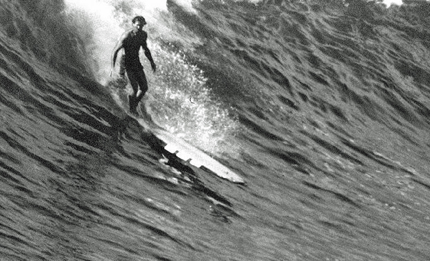 Image 1 for Rare first edition of Tom Blake's book at Noosa Longboards store