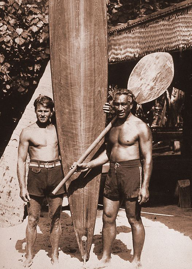 Image 2 for Rare first edition of Tom Blake's book at Noosa Longboards store