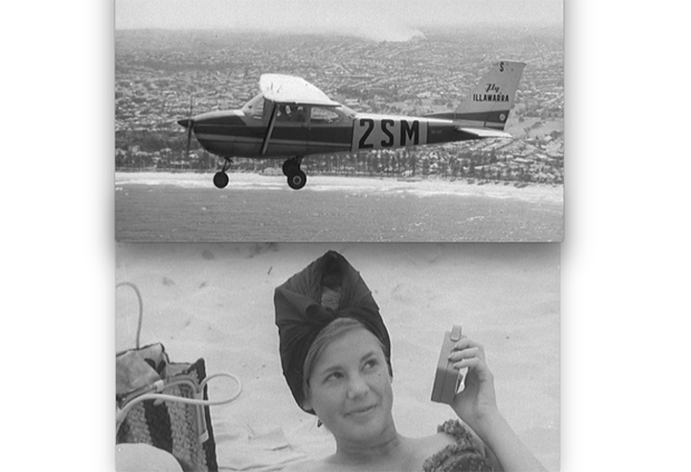 Image 1 for Here's how they handled the shark menace in Sydney in 1964 - high-tech, foolproof