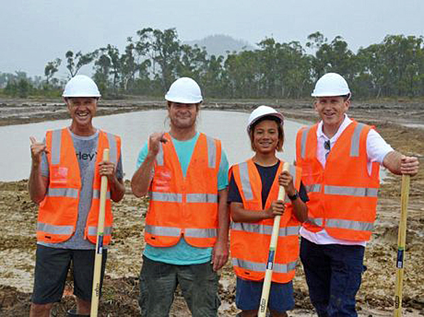 Image 1 for Surf Lakes prototype underway in Central Queensland