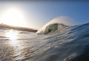 Biggest day of the year at The Wedge, with Jamie O'Brien