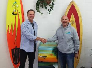 It's back! The Noosa Malibu Club and World Surfaris have signed a multi-year deal to host the Noosa Festival of Surfing