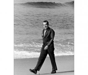 Nixon didn't surf, but he golfed with a couple of surfer stoners
